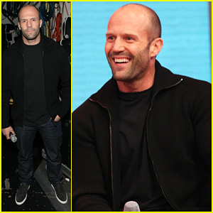 Jason Statham Promotes 'Homefront' on '106 & Park'!