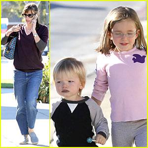 jennifer-garner-errands-with-kids-after-halloween jpgJennifer Garner Kids Samuel