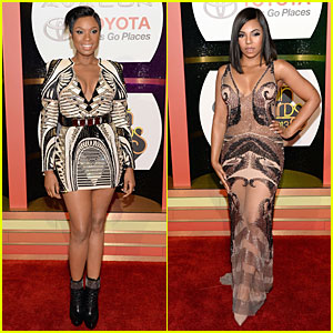 Jennifer Hudson & Ashanti: Soul Train Awards 2013 Red Carpet