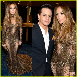 Jennifer Lopez: AMAs 2013 with Casper Smart!