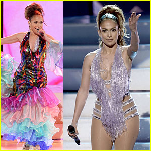 Jennifer Lopez: Celia Cruz Tribute at AMAs 2013 (Video)!