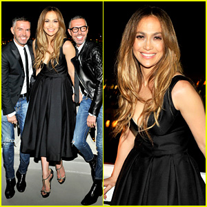 Jennifer Lopez: Dsquared2 Dinner Following the AMAs 2013!