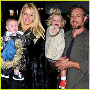 Jessica Simpson & Family Head to Boston for Thanksgiving!