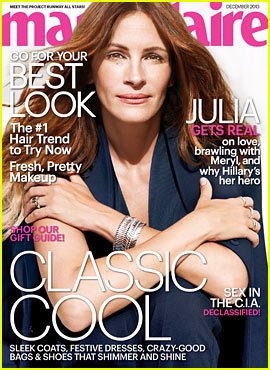 Julia Roberts Covers 'Marie Claire' December 2013