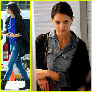 Katie Holmes Heads Home from Cape Town for Thanksgiving!