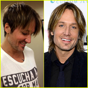 Keith Urban Cuts Off Signature Long Hair - See New 'Do Here!