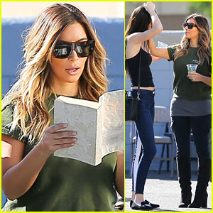 Kim Kardashian & Family Sell Items at Charity Yard Sale!
