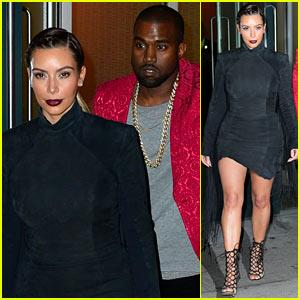 Kim Kardashian & Kanye West Head to Yeezus MSG Concert!