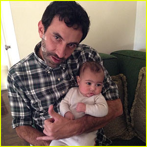 Kim Kardashian Shares Photo of North West with Riccardo Tisci!