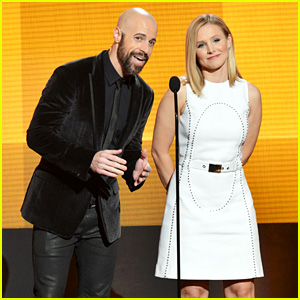 Kristen Bell & Chris Daughtry - AMAs 2013 Presenters