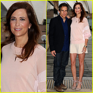 Kristen Wiig & Ben Stiller: 'Walter Mitty' Sydney Photo Call!