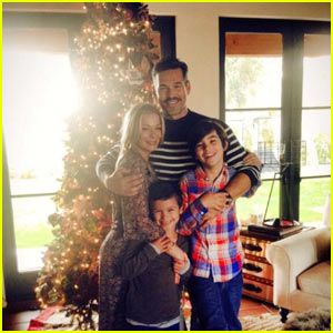 LeAnn Rimes: Thanksgiving Family Photo with Eddie Cibrian & Kids Mason and Jake