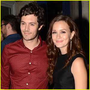 Leighton Meester & Adam Brody: Engaged!