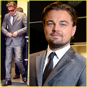 Leonardo DiCaprio: TAG Heuer Boutique Opening in Paris!