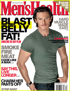 Hobbit's Luke Evans Covers 'Men's Health' December 2013