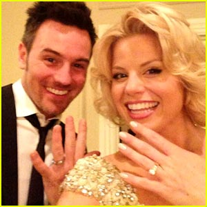 Megan Hilty First Wedding Photo With Brian Gallagher