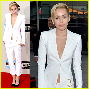 Miley Cyrus - AMAs 2013 Red Carpet