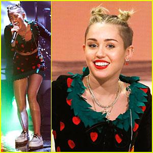 Miley Cyrus: Wetten Dass Performer!