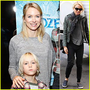 Naomi Watts: 'Frozen' NYC Screening with Sasha!