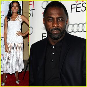 Naomie Harris & Idris Elba: 'Mandela' AFI Fest 2013 Premiere!