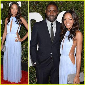 Naomie Harris & Idris Elba: 'Mandela' Hollywood Premiere!