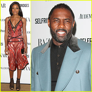 Naomie Harris & Idris Elba Win at Harper's Bazaar Women of the Year Awards!