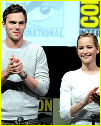 Nicholas Hoult Supported Jennifer Lawrence at London Premiere!