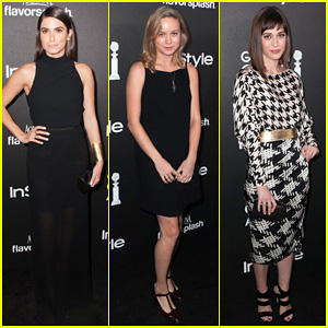 Nikki Reed & Brie Larson: HFPA InStyle Party!