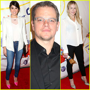 Nikki Reed & Matt Damon: Stand Up for Gus Benefit