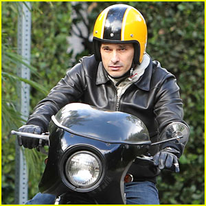 Olivier Martinez: Back on the Road After Minor Fender Bender