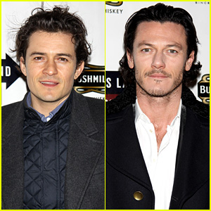 Orlando Bloom & Luke Evans Support Ian McKellen on Bway!