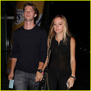 Patrick Schwarzenegger & Taylor Burns: Lakers Game Lovers!