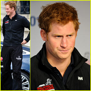 Prince Harry: South Pole Challenge Press Conference!