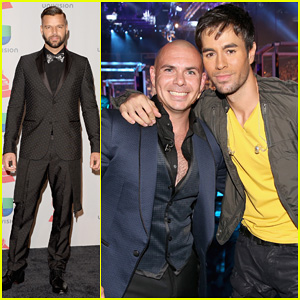 Ricky Martin & Enrique Iglesias: Latin Grammy Awards 2013