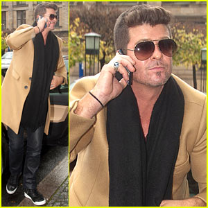 Robin Thicke: MTV EMA 2013 This Weekend!
