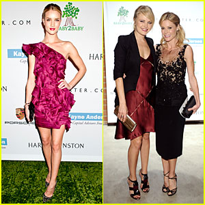 Rosie Huntington-Whiteley & Malin Akerman: Baby2Baby Gala!