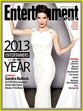 Sandra Bullock: EW's Entertainer of the Year 2013!