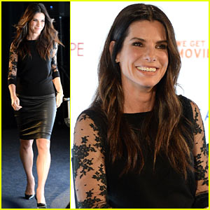 Sandra Bullock: Gravity's 'L.A. Times' Envelope Screening!