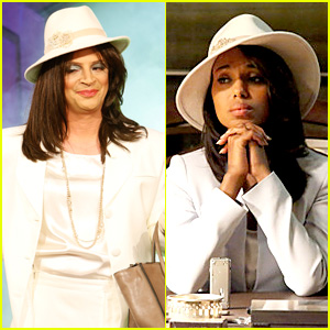 Scandal's Joshua Malina is Olivia Pope for Halloween!