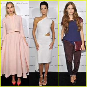 Suki Waterhouse & Jaimie Alexander: London Style Suites Cocktail Party