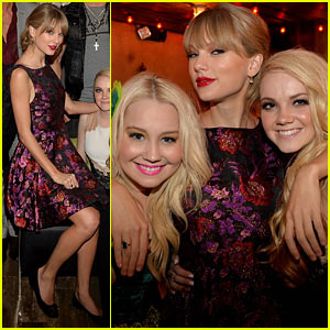 Taylor Swift: CMA Awards 2013 Big Machine After Party