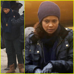 Thandie Newton: I Love Getting Ready for Premieres!
