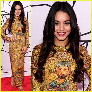 Vanessa Hudgens - YouTube Music Awards 2013 Red Carpet