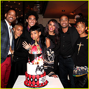 Will & Jada Pinkett Smith Celebrate Son Trey's 21st Birthday!