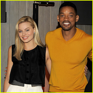 Will Smith & Margot Robbie: 'Focus' Argentina Photo Call!