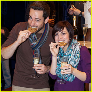 Zachary Levi & Krysta Rodriguez Celebrate 100 'First Date' Shows!