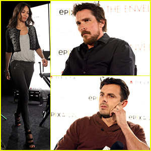 Zoe Saldana & Christian Bale: 'Out Of The Furnace' Screening!
