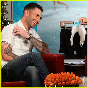 Adam Levine: Behati Prinsloo Laughed After Learning About Sexiest Man Alive Title!