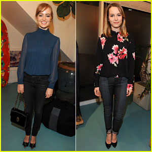 Ahna O'Reilly & Bridgit Mendler: BecauseYouCan Launch!
