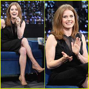 Amy Adams Talks Emotional Kiss with Jennifer Lawrence!